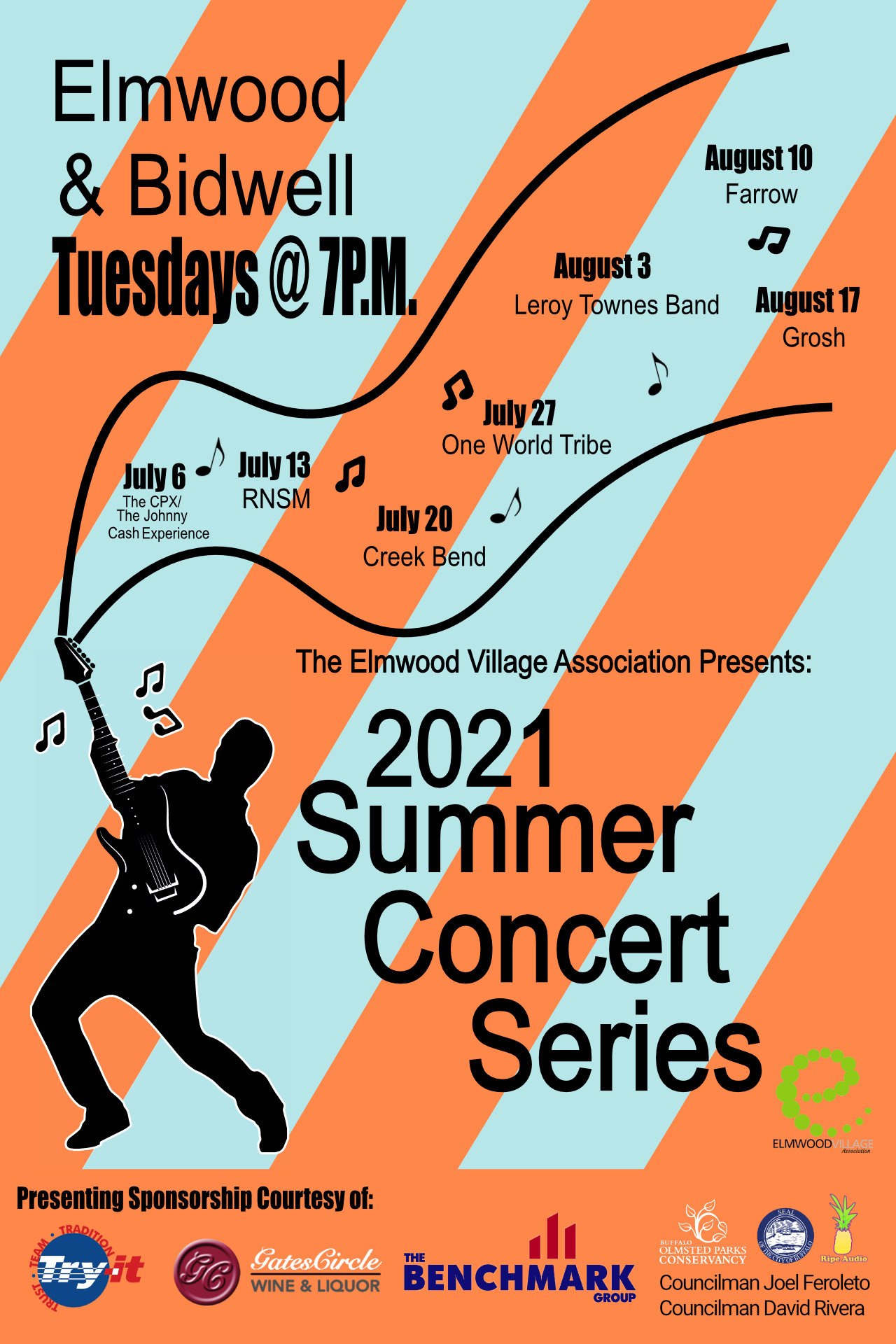 2021 Bidwell Summer Concert Series